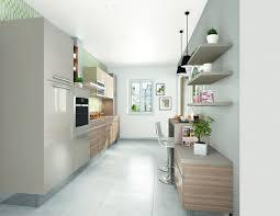 amenager une cuisine en longueur cuisine en longueur aménagement 12 modèles en photos côté maison