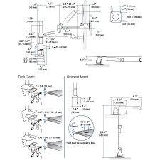 Ergotron Lx Desk Mount Notebook Arm by 45 295 026 Lx Desk Mount Monitor Arm Tall Pole 13 25