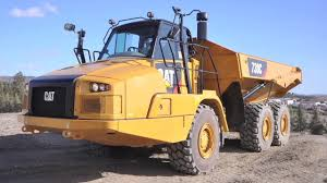 100 Articulated Truck Introducing The Cat 730C YouTube