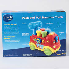 Push And Pull Hammer Truck From Vtech - Colour Introducing Musical ... Vtech My First Cash Register With Food Basket Toy Amazoncouk Cheap Abc Fun Learning Find Deals On Line At Push Pull Hammer Truck Toys Games Carousell Leapfrog Scouts Build Discover Tool Box Klb Presale Garage Sale Vtech Interactive Toys Compare Prices Nextag Amazoncom Drill Learn Toolbox Baby Toot Drivers Fire Engine Interactive Light Sound 38 Musthave Toddler Educational And Entertaing Classic Wooden Pound A Peg Pounding Bench Kids Submarine Tpwwwthfuntimecombabytoy For Boys