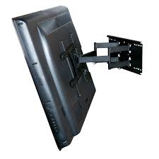 SubKuch Wall Mount Moving LCD LED TV Bracket Black Price In Pakistan