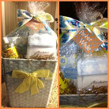 Baby Shower Gift Handsome Little Boy Basket Baby Fever