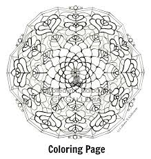 Mandala Coloring Pages Web Art Gallery Pdf