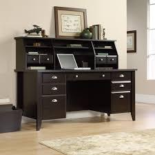 Sauder Edge Water Computer Desk Estate Black by Sauder Shoal Creek Desk And Hutch Best Home Furniture Decoration