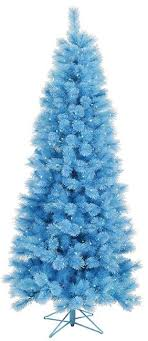 75 Blue Mixed Pine Cashmere Artificial Christmas Tree With Clear Lights
