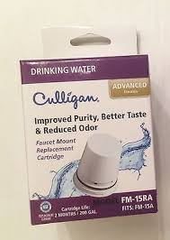 culligan fm 15ra replacement filter cartridge for faucet mount