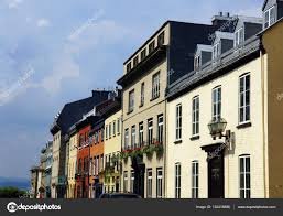 100 Row Houses Architecture Colorful Row Houses Stock Photo Mirage3 132418886