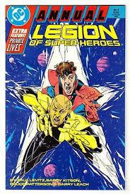 LEGION OF SUPER HEROES Vol 3 Annual 4 1988