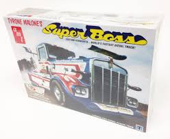 1/25 Kenworth Super Boss Drag Truck - Model Kit | At Mighty Ape NZ