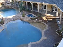 Advanced Concrete Solutions Houston Tx by Stamped Concrete Around Pool Round Designs
