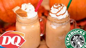 Starbucks Pumpkin Spice Frappuccino Bottle by Homemade Starbucks Pumpkin Spice Frappuccino U0026 Dq Pumpkin Pie