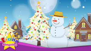 Frosty Snowman White Christmas Tree by White Christmas Christmas Carol Christmas Kids Song Xmas