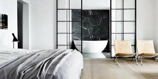 open bathroom concept for your master bedroom chic home