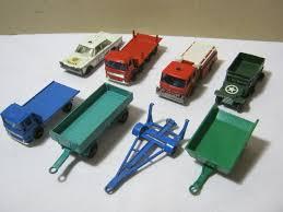 100 Matchbox Car Carrier Truck Vintage Trailer Lot Personnel Rier Pipe