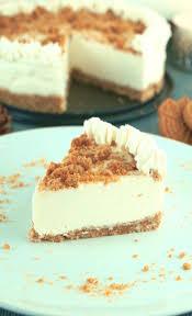 spekulatius cheesecake gesunder und kalorienarmer kuchen