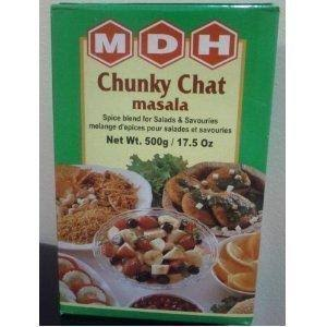 MDH Chunky Chat Masala 500g (Pack of 2)