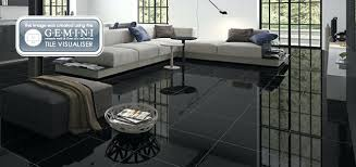 Black Floor Tiles Slate Effect Charcoal