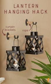 Dignitet Curtain Wire Hack by Best 25 Curtain Brackets Ideas On Pinterest Wall Mounted