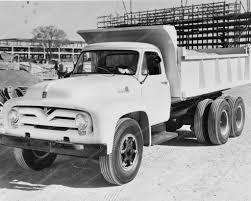 100 Ford Truck Apps 1955 Dump 8 X10 Old Photo S Trucks S