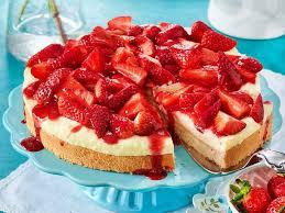erdbeer pudding kuchen