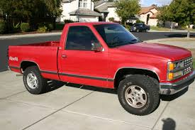 1989 Chevy K1500 Truck 4x4 Silverado Package - Classic Chevrolet C/K ...