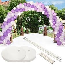 ALOHA DIY Balloon Tassels Hawaiian Theme Wedding Birthday Party Decoration Set