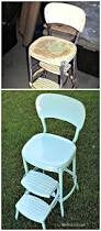 Cosco Retro Chair With Step Stool Black by Best 25 Kitchen Step Stool Ideas On Pinterest Yellow Tabourets