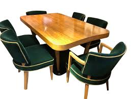 Art Deco Dining Room Furniture For Sale | Tables And Chairs ... Art Deco Ding Room Set Walnut French 1940s Renaissance Style Ding Room Ding Room Image Result For Table The Birthday Party Inlaid Mahogany Table With Four Chairs Italy Adams Northwest Estate Sales Auctions Lot 36 I Have A Vintage Solid Mahogany Set That F 298 As Italian Sideboard Vintage Kitchen And Chair In 2019 Retro Kitchen 25 Modern Decorating Ideas Contemporary Heywood Wakefield Fniture Mediguesthouseorg