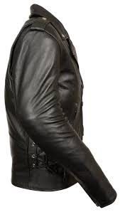amazon com leather king men u0027s classic side lace motorcycle
