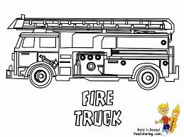 Fire Trucks Coloring Sheets Olalapropxco Fire Truck Coloring Pages ...