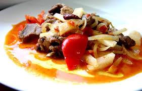 cuisiner coeur de porc recette de sauté de coeur de porc aux radis noirs