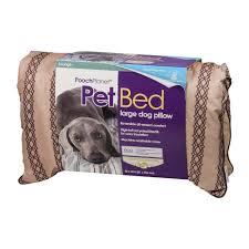 pooch planet pet bed large dog pillow 1 0 ct walmart com