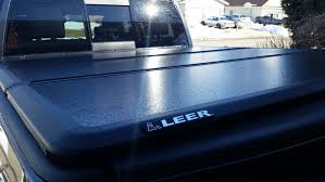 Leer Bed Covers by New Leer Trilogy Aluminum Tri Fold Tonneau Cover Dodge Ram Forum