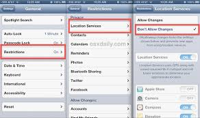 Improve Find My iPhone By Locking Down Location Services