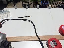 process wiring fluorescent light ballasts on the cheap