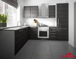 küchenzeile l form grau fino schwarz 140x250cm neu