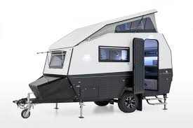 Mars Campers Hybrid Loft Camper Side View Open