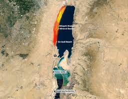 Sinked Meaning In Hindi by The Dead Sea And Its Sinkholes U2013 Natural Disasters And Flood Seen
