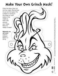Who Stole Christmas Include Two Word Searches A Printable Grinch Mask Connect The Dots Coloring Page Whoville Tree Ornaments