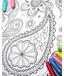 Detailed Printable Coloring Book