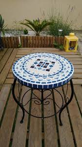 table ronde mosaique fer forge table marocaine rectangulaire table en mosaïque table fer forgé