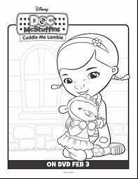 Magnificent Doc Mcstuffins Coloring Pages Printable With Mcstuffin