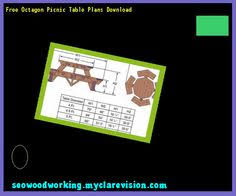 plans for octagon picnic table 102016 woodworking plans and