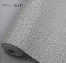 Modern Plain Rustic Textured Wallpaper Horizontal Faux Grasscloth Washable Vinyl Wall Paper Roll GreyBeige