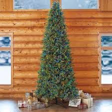 Balsam Christmas Trees Uk by Aspen 12ft 3 7 M Pre Lit 1 350 Led Dual Colour Artificial
