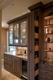 hidden liquor cabinet kitchen traditional with award winning bar