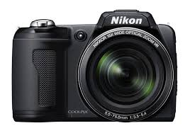 Amazon Nikon Coolpix L110 12 1MP Digital Camera with 15x Optical Vibration Reduction VR Zoom and 3 0 Inch LCD Black Point And Shoot Digital