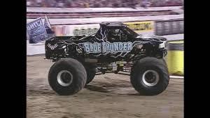 100 Blue Monster Truck Thunder Vs Wrenchheadcom Jam World Finals Racing Round
