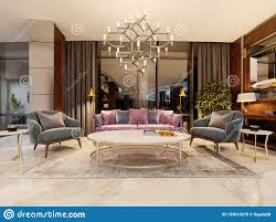 100 Modern Interior Design Magazine Evening Lobby In The Hotel With A Purple Sofa Two Blue