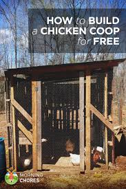 100 Pigeon Coop Plans How To Build A Practically Free Chicken In 8 Easy Steps
